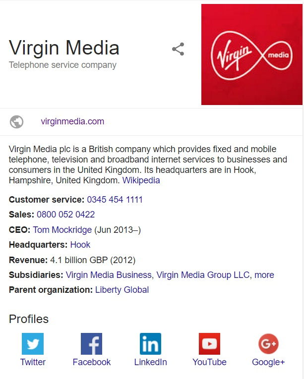 topic, virgin media ntlworld can speak much this