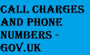 Call Charges UK list