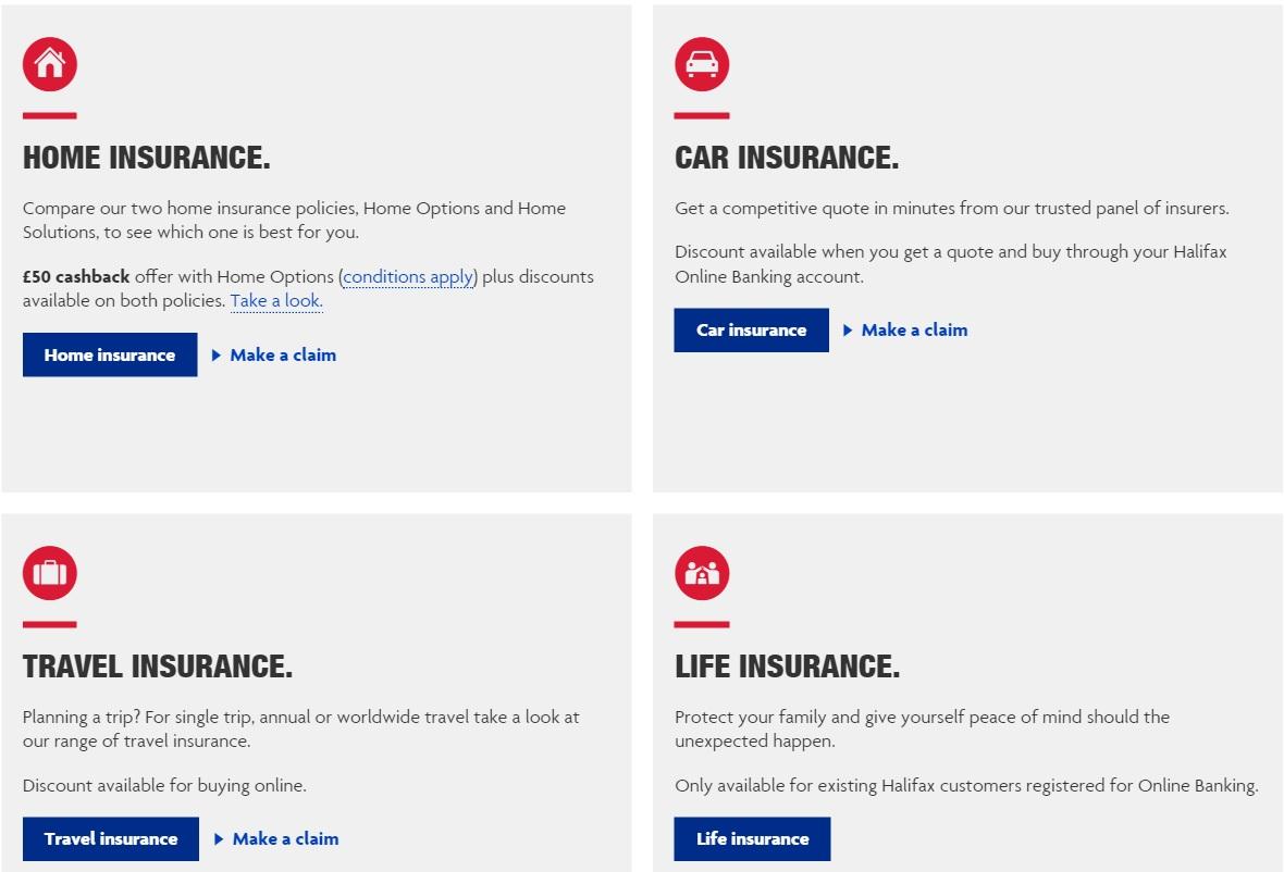 Halifax insurances