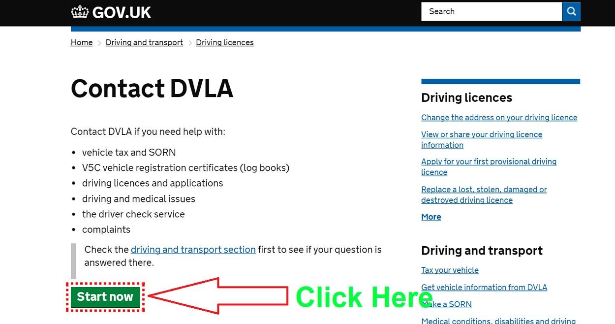 Dvla Change Address For Car Tax