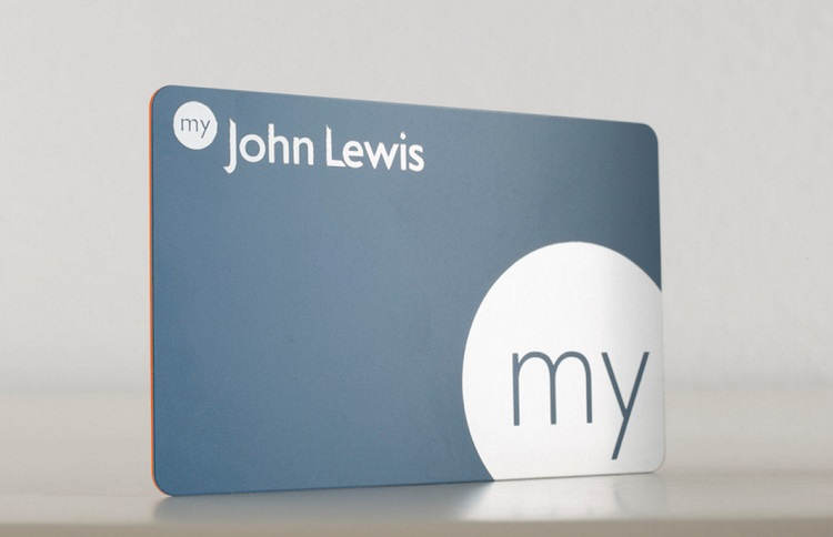 my John Lewis membership card