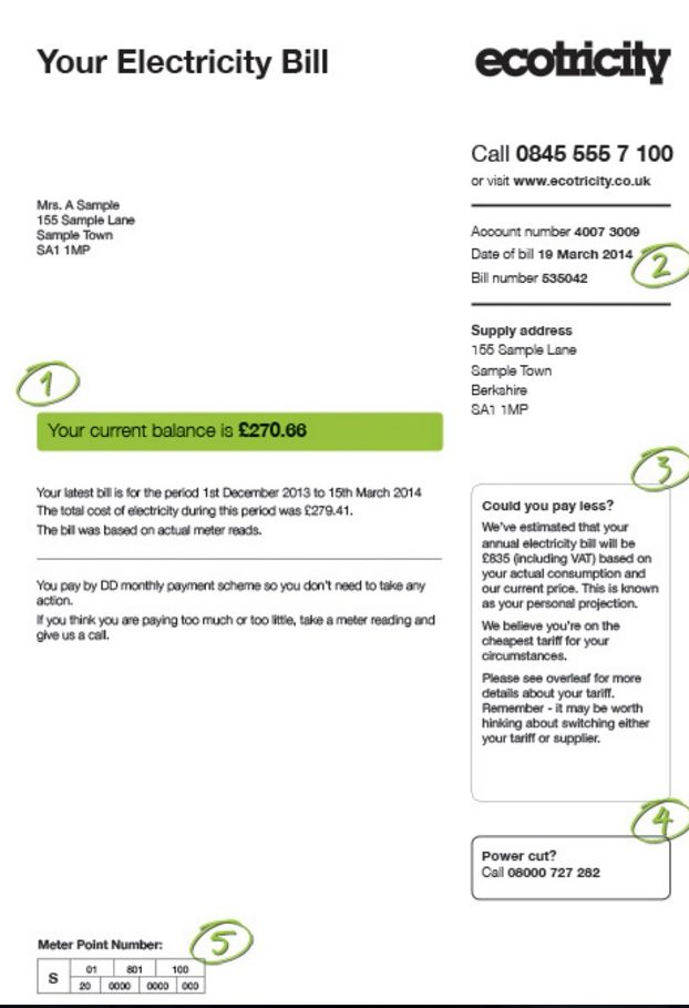 ecotricity bill