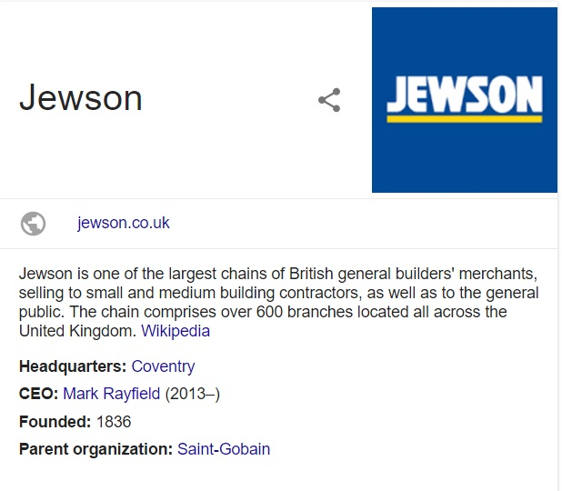 jewson contact details