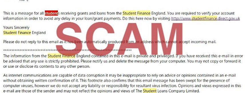 student finance england complaints