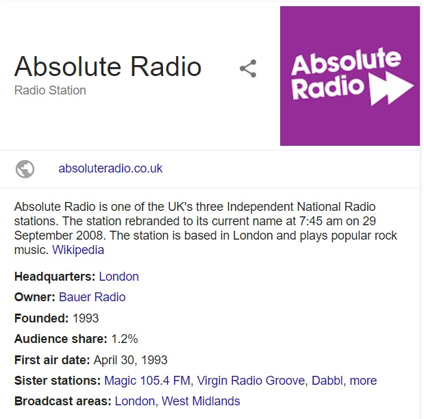 absolute radio contact