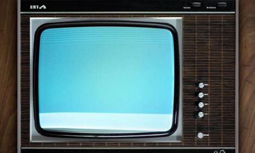 black white tv