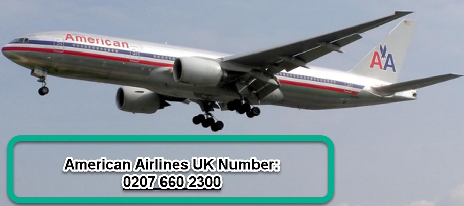 american airlines uk number 0207 660 2300