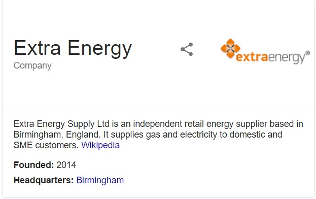 extra energy information