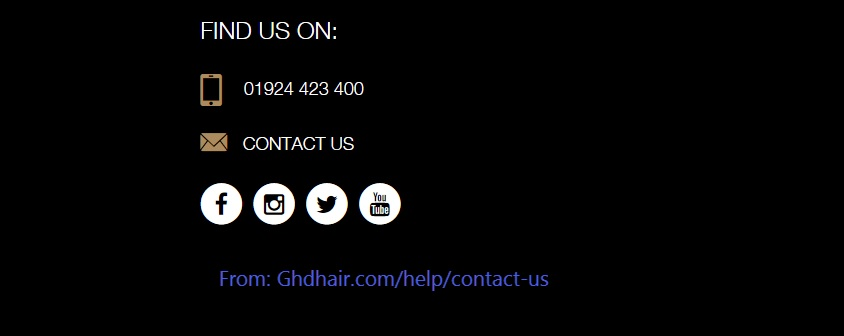 ghd contact information