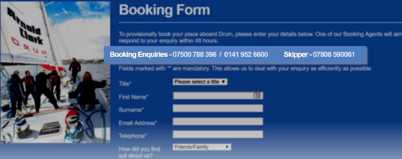 arnoldclarkdrum booking