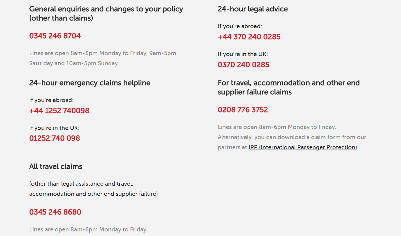 Direct line travel insurance postal address - Post office customer service phone number ...