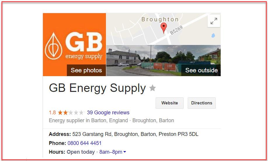 gb energy contact