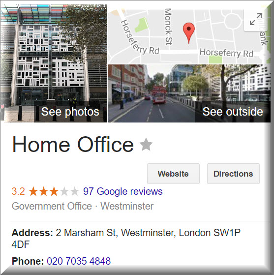 home office contact info