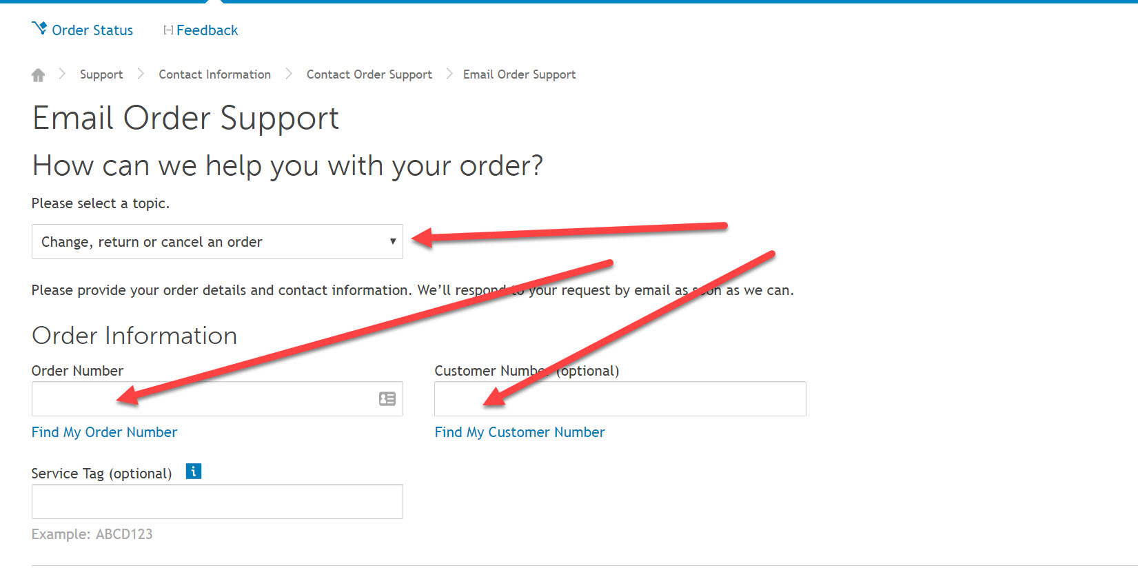 canceling your dell order