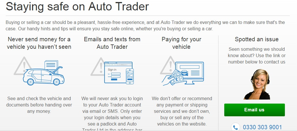 AutoTrader Safety