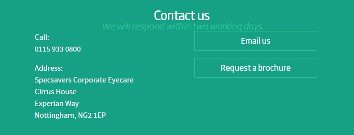 Specsavers corporate eye care contact