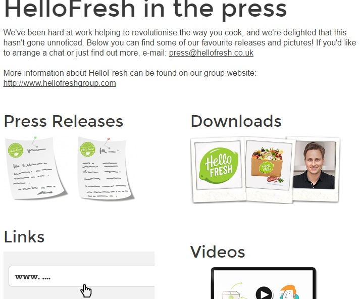 HelloFresh Press