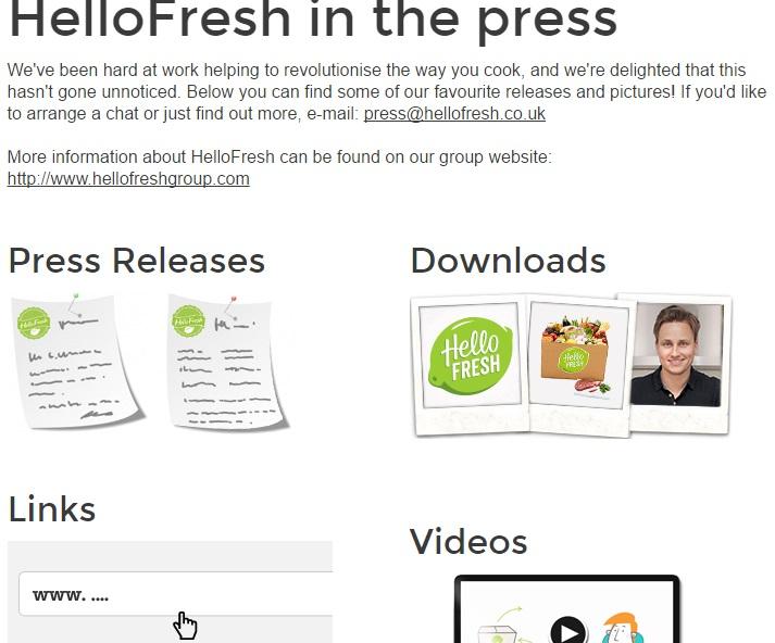 HelloFresh Press