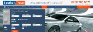 Southall Travel Car Hire Query
