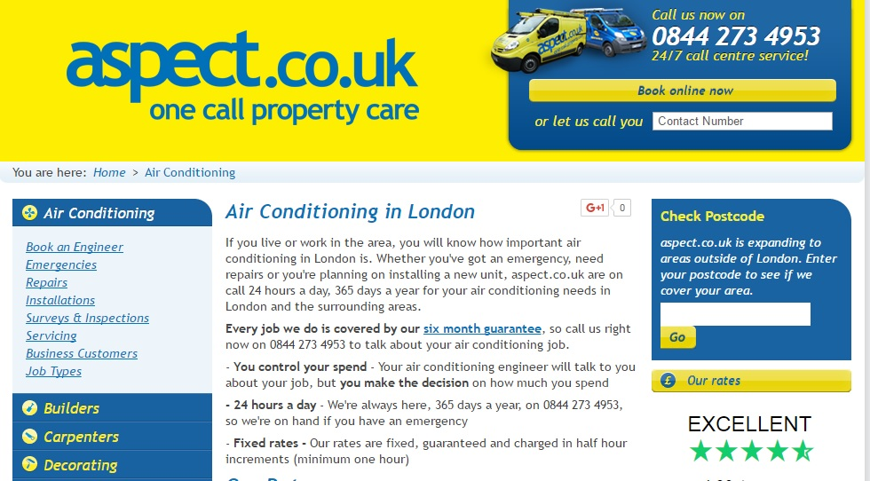 Aspect Air Conditioning