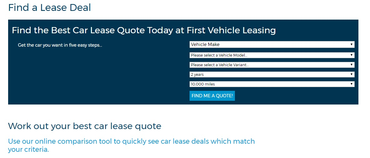 Find a lease deal