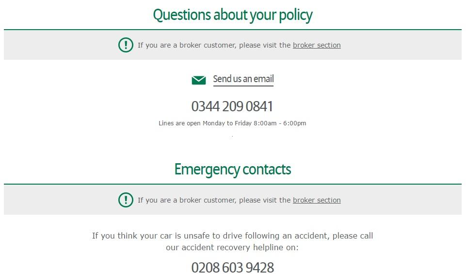Allianz Car Insurance number