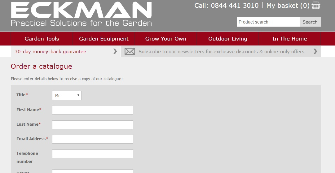 Eckman Catalogue