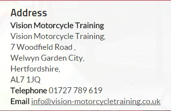 Vision Motorcycle address and email