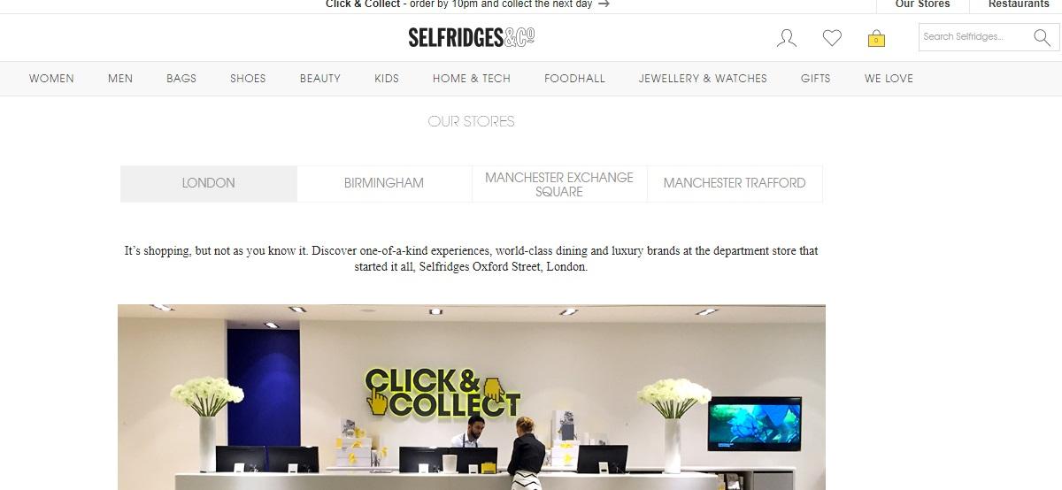 Selfridges Stores