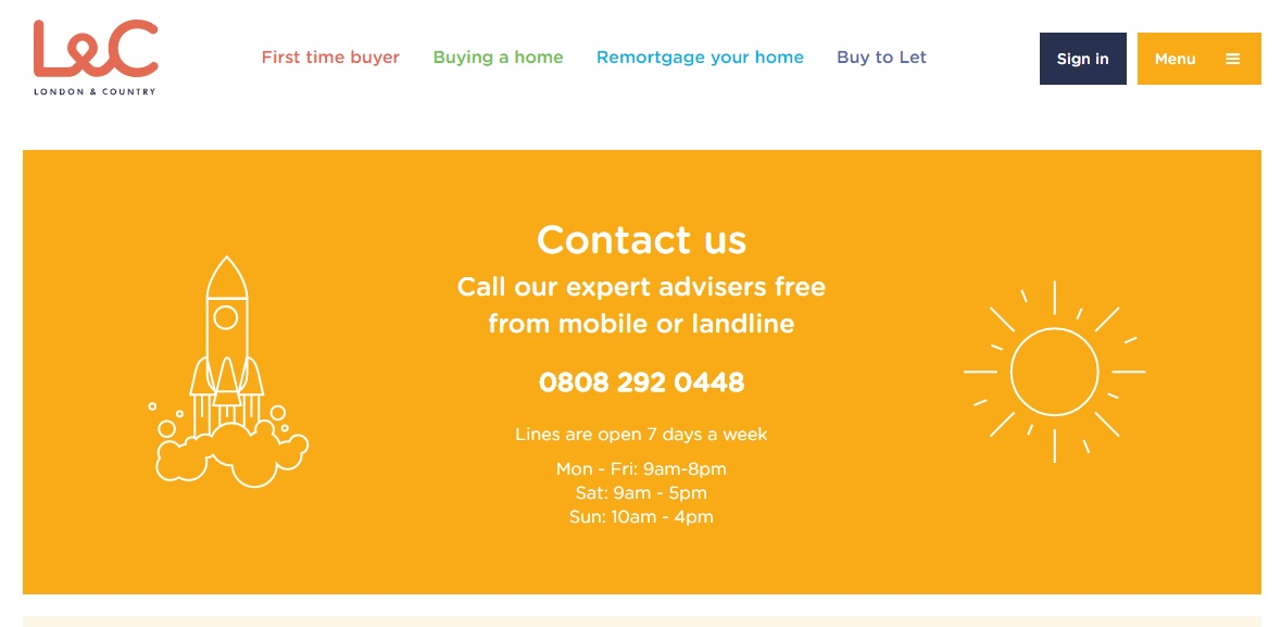 London & Country Mortgages Contact
