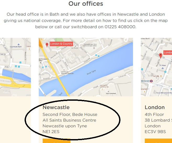 London and Country Mortgages Newcastle Address