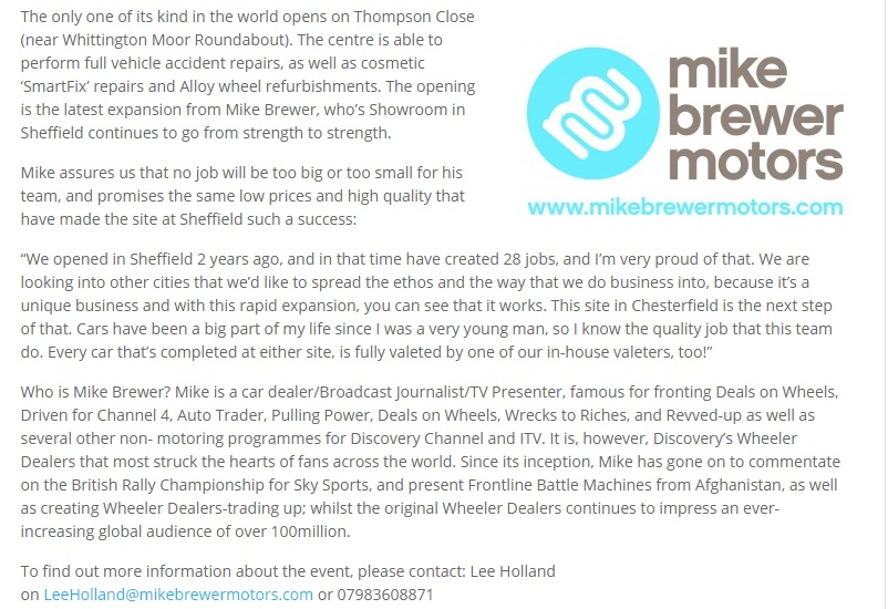Mike Brewer Motors Luton
