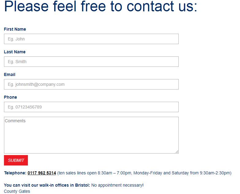 Global Van Solutions Contact number