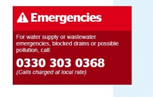 Southern Water Emergency Number