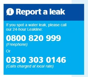 Report a leak number