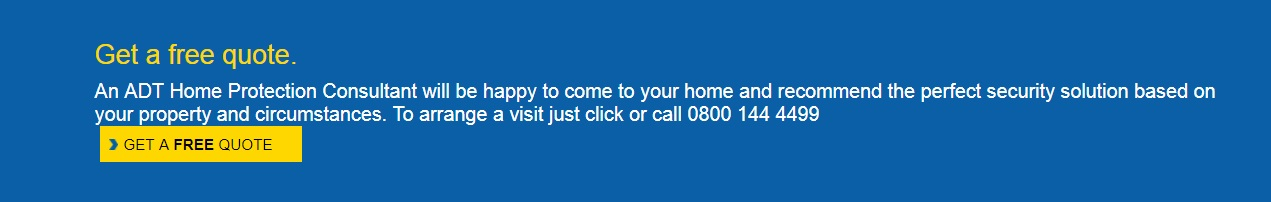 Adt Quote | Adt Security Uk Customer Service Contact Number 0843 837 5535