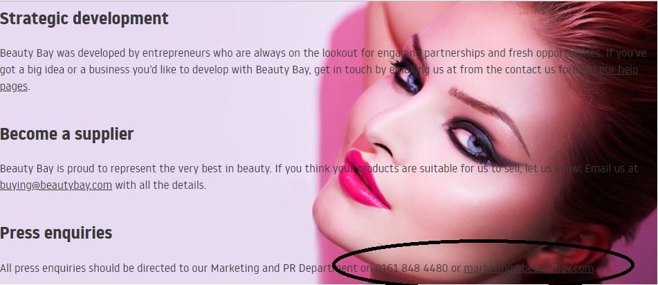 Beauty Bay Press Contact