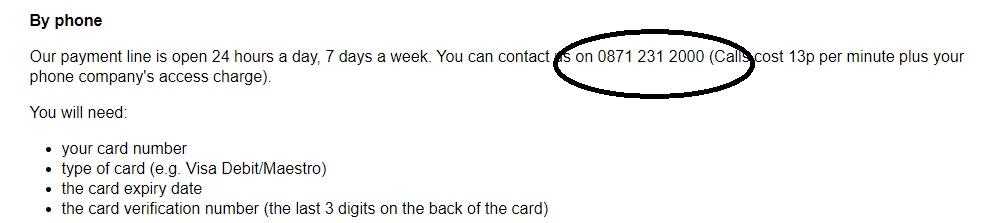 Fashion World UK online phone number