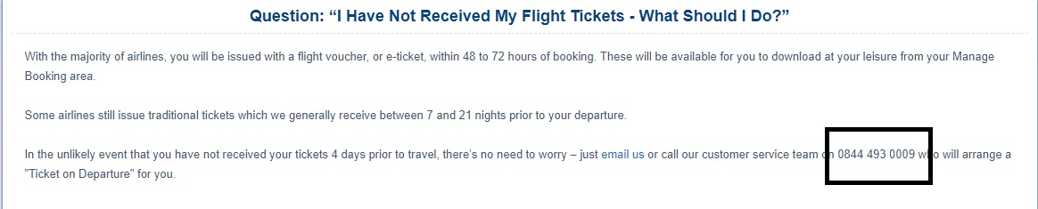 Sunmaster Holiday flight tickets