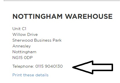 Barker and Stonehouse Nottingham Warehouse