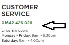 Barker and Stonehouse customer support