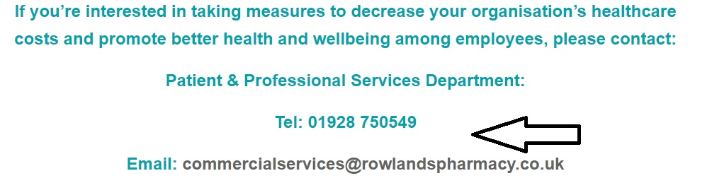 Rowlands Pharmacy commercial services