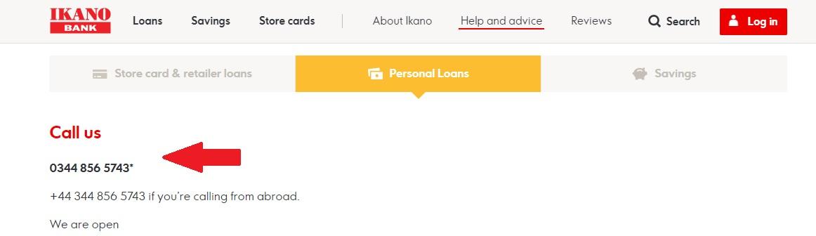Ikano Personal Loans Contact
